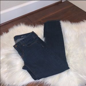 J. Crew Toothpick Ankle Jeans Size 26
